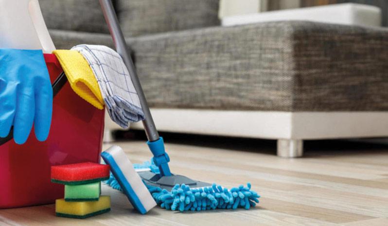 Serviços de limpezas domésticas
